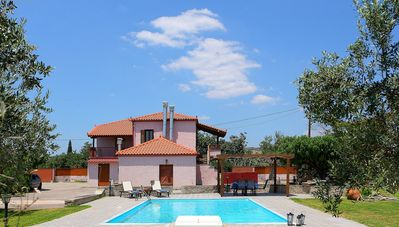 Photo for Traditional Stone Villa Katerina with Private Pool