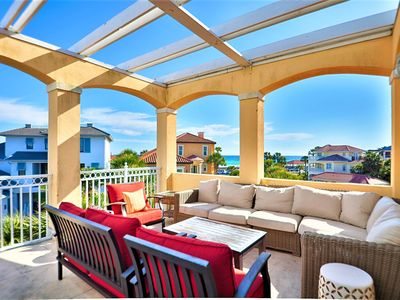 Bella Vita is Located Across The Street From The Beach - Take In The Gulf Views