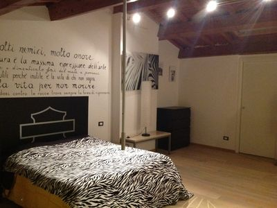 Photo for Between Lucca, Pisa and the sea - Loft 120 m2 - satellite sky TV