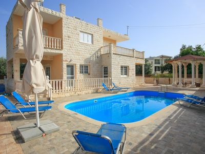 Photo for Villa Prodromi: Large Private Pool, A/C, WiFi