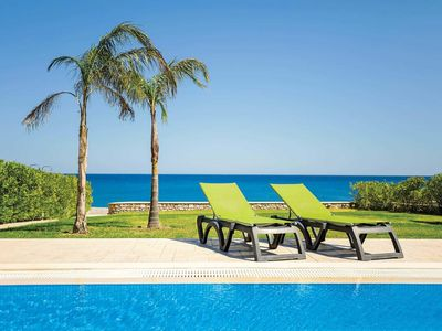 Photo for 3 bedroom Villa, sleeps 6 in Lachaniá with Pool, Air Con and WiFi