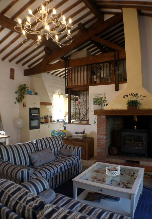 old barn with loft mas with converted barn cottage unique homeaway perpignan