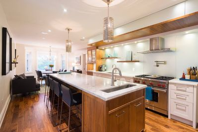 Open concept kitchen, dining room. If you love to cook, you'll love this kitchen