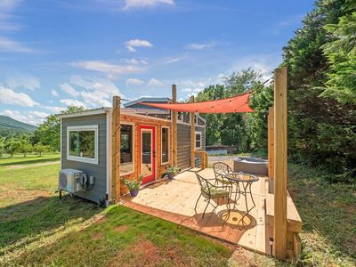 Photo for Magnolia - Tiny House, Private Hot Tub, Views of Lookout Mountain