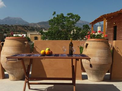 Photo for Giovanni Apartment is a cozy apartment in a traditional Cretan village