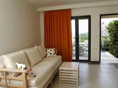 Photo for Pelagos Holidays Apts 2 with an extraordinary view of the Cretan Sea