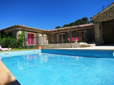 Photo for Beautiful Provencal stone house in Lorgues
