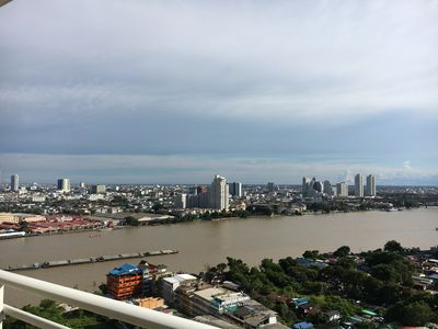 Photo for on the river of the Kings Chaophraya River Bangkok