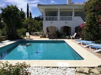 Photo for Lovely Andalucian villa in a quiet, green neighborhood