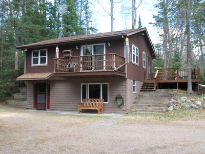 High Lake Cabin - Boulder Junction, WI - $184.00/nt/4 Guests