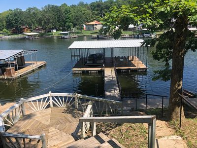 Photo for No Wake Cove House with Private Dock 3 bed/2 bath