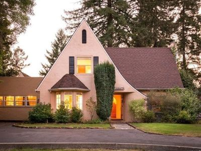 Photo for Lovely Tudor Home w/ Pool & Spa near Russian River, short walk to Guerneville