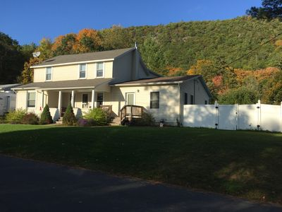 Photo for Quite Family Friendly Mountain View Home with above ground pool and hot tub