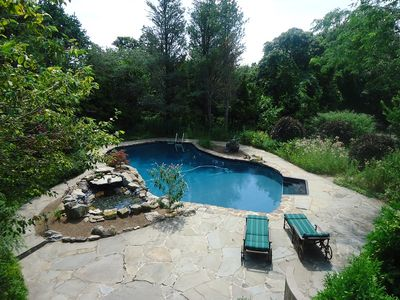 Photo for Beautiful, Secluded Home. Gourmet Kitchen, Pool & Spa. Minutes From Beach