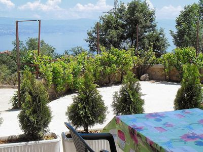 Photo for One bedroom apartment with terrace and sea view Oprič, Opatija (A-7756-e)