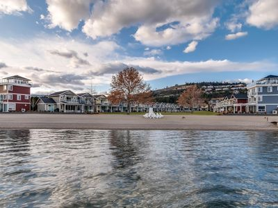 Photo for Boucherie Beach Front Cottage (24) in West Kelowna! W/Heated Pool/Hot Tub/Beach
