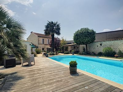 Photo for House with pool 8/10 pers in La Rochelle