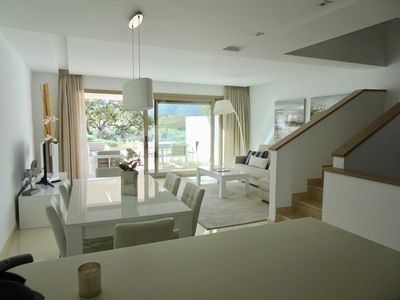 Photo for Splendid house with spectacular views of the mountains and golf Mijas