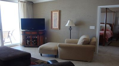 Living Room with Chair, Ottoman, 40 Inch LCD TV