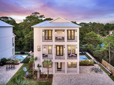 Photo for Gorgeous New Construction 30A Home w/ Private Pool & Putting Green!