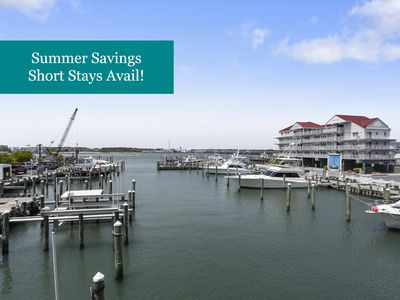 Photo for Spacious Bayfront Condo - Outdoor Pool - 2 Blocks to Beach & Boardwalk