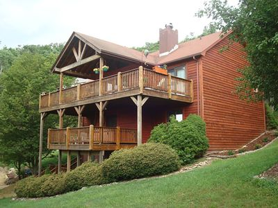 Photo for Steele Mountain Retreat - In Boone with Hot Tub, Yard with Fruit Trees, pretty view!