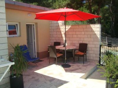 Photo for Holiday apartment Trogir for 1 - 2 persons with 1 bedroom - Holiday apartment in one or multi-family