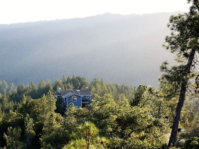 Photo for Ultimate getaway at 20 acres of Mountain Top Estate with 360º degree views