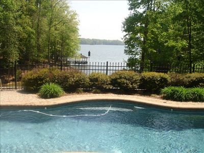 Photo for Vacation Retreat with Pool, Hot Tub, Firepit and Dock!