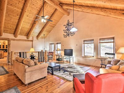 Photo for Eagle Nest Home w/ Hot Tub & Views - 5 Min to Lake