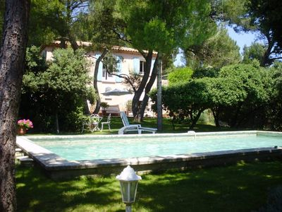 Photo for Provencal Bastide in the shadow of old pines and oaks