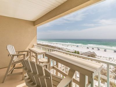 Photo for Beachfront condo available! Our beaches are open!