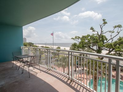 Photo for Pool View Condo w/ WiFi, Mini Golf, Resort Pool & Gym Access