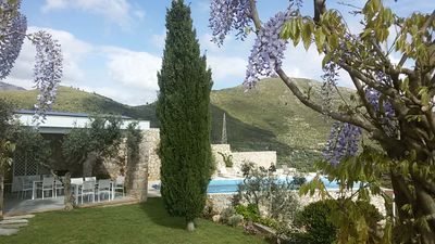 Photo for Villa With Private Pool And Sea Views, Peaceful Location,10 Minutes To The Beach