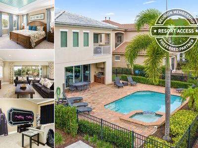 Photo for GREAT RATES - Unique Home With Awesome Game Room & Kids Bedrooms Close to Disney!