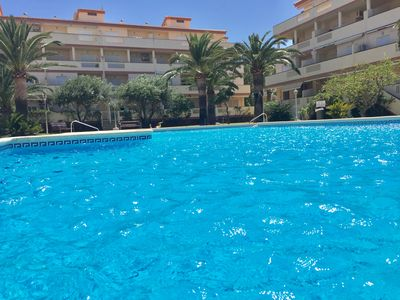 Photo for APARTMENT IN DENIA - LAS MARINAS - 2 BEDROOMS IN 1st LINE OF BEACH