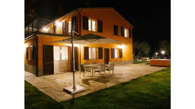 Photo for MONTENOVO Country House: RUSTICA house immersed in the Marche hills