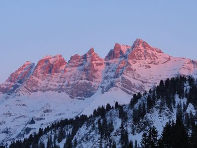 Photo for Superb top floor flat on 2 levels on the skislopes Champéry/Les Crosets/Avoriaz