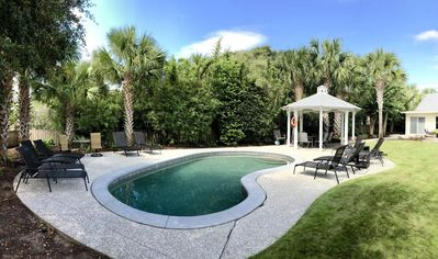 Photo for NEWLY RENOVATED 4BR/3.5Bath House w/Pool - ONE BLOCK FROM BEACH
