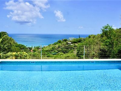 Photo for La Mer- Luxury 3 bedroom villa with Ocean Views in St Lucia