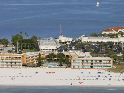 Photo for Beach Vacay Starts Here! Two Cozy Units for 10 Guests, Pool, Tiki Bar