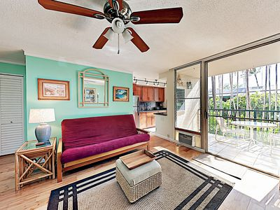 Photo for Sunny 1BR w/ Pool & Private Balcony - Walk 5 Minutes to Beach & Dining