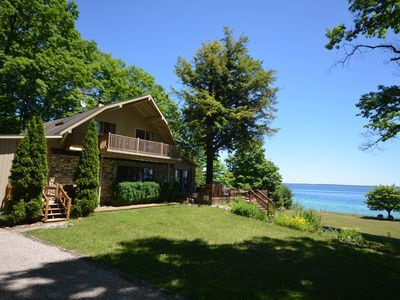 Photo for Caboose Royale- West Bay -Suttons Bay-Main House & Caboose