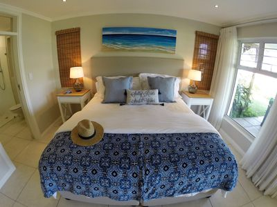 King size extra length, luxurious quality bed. Fall asleep to the ocean melody