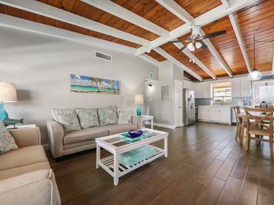 Photo for America's #1 Beach! Updated 2/1.5 condo steps away from beautiful Siesta Key