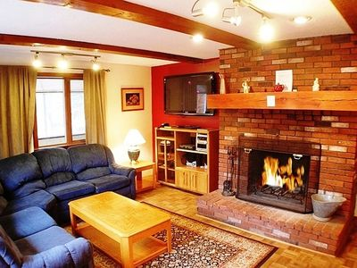 Photo for Spacious Mountain Home in ideal location close to Ski Mountains and Storyland