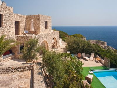 Photo for Villa with Swimming Pool on the seaside,Big Garden And Parking Free Wi FI