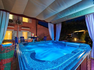 Photo for Villa Villa Mrvica for groups with jacuzzi and swimming pool