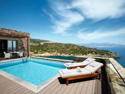 Photo for Daios Two Bedroomed Wellness Villa at