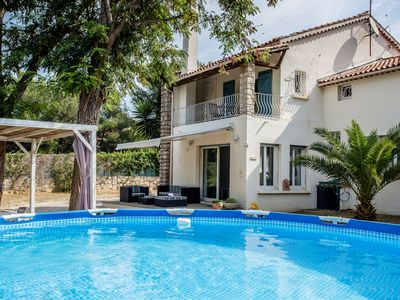 Photo for Villa classified 3 stars *** / pool / beach 1km / garden / play area